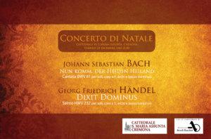 Concerto di Natale<br/>in Cattedrale<br/>Cremona 2018