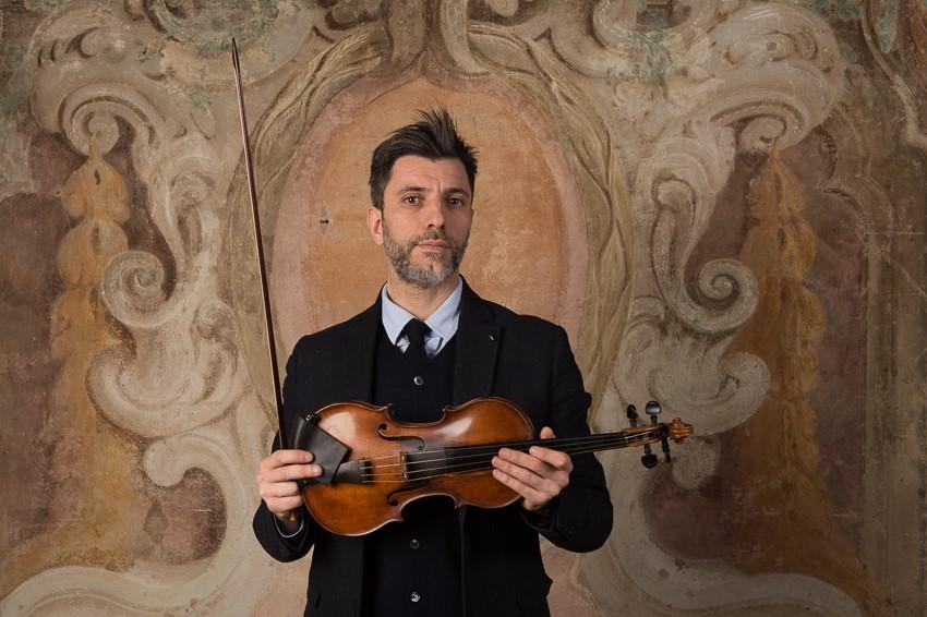 Gian Andrea Guerra<br>Primo Violino<br> Cremona Antiqua