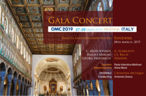 Gala Concert<br/>OMC Conference & Exhibition, Ravenna