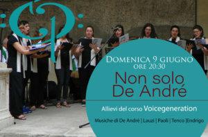 Non solo De André<br/>Uno spettacolo del corso Voicegeneration