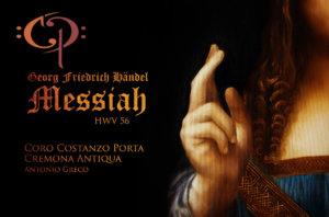 HÄNDEL'S MESSIAH: CORO COSTANZO PORTA & CREMONA ANTIQUA – LIVE 2016