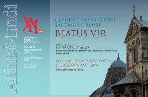 Beatus Vir<br/>Rassegna di Musica Sacra<br/>Anima Mundi Pisa
