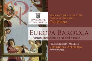 Europa Barocca<br/>per la Festa della Fondazione <br/>Città di Cremona 2019